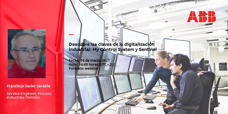 Webinar de ABB el 10 de marzo para conocer las claves sobre la digitalización industrial