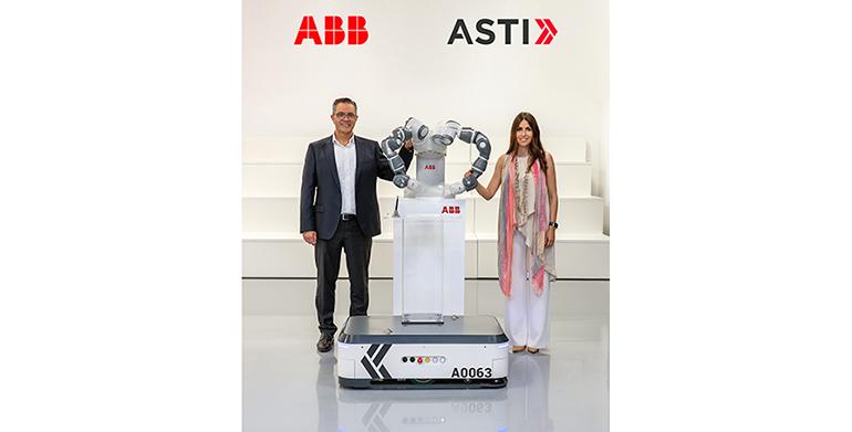 ABB adquiere ASTI Mobile Robotics Group