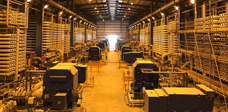 Abengoa celebra un año de la entrada en operación de la planta de Shuaibah en Arabia Saudí