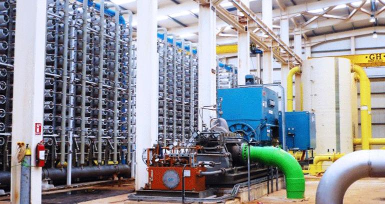 La desaladora argelina de Ténès alcanza los 200 millones de metros cúbicos de agua potable producidos