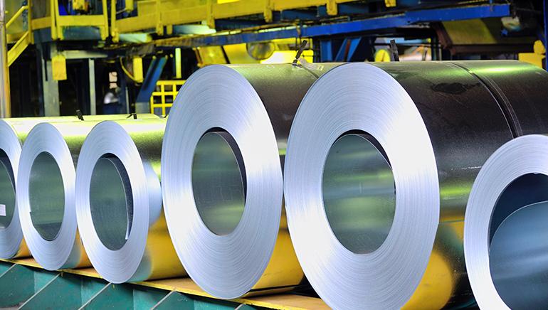 Ligero descenso de la producción de acero en España