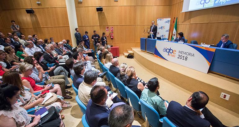 Las empresas de la AIQBE acaparan la quinta parte de la producción industrial en Andalucía