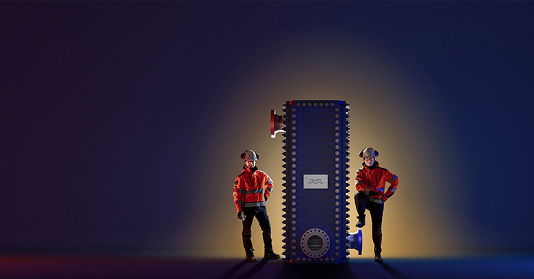 Gama de intercambiadores de calor de placas soldadas