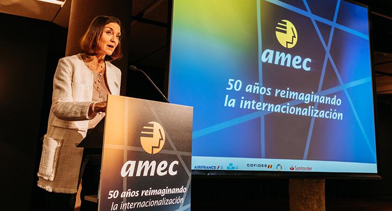 amec, internacionalización