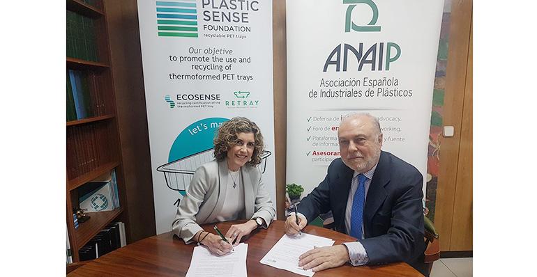 ANAIP y la Fundación Plastic Sense firman un convenio para apoyarse en la promoción del reciclaje