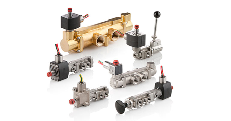 Válvulas ASCO para automatización de válvulas de proceso