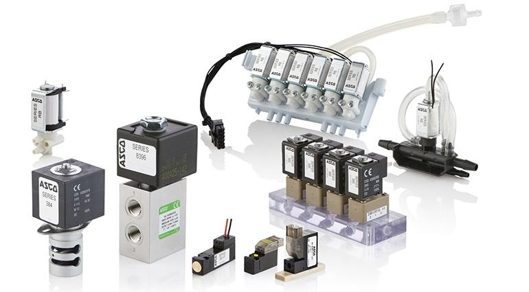 Electroválvula miniatura