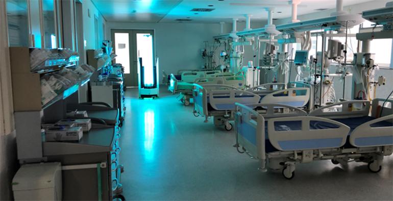 Una tecnología pionera de desinfección del Covid sitúa a Burgos en el centro de la innovación