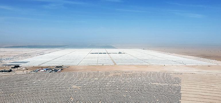Abengoa, planta solar Dubai