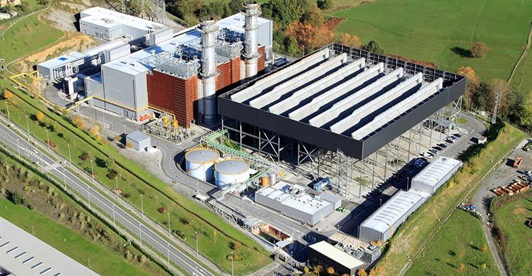 La planta de ciclo combinado de Amorebieta se reconvertirá en 2022 en una planta de hidrógeno verde