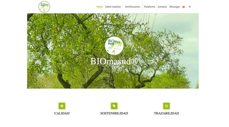BIOmasud estrena web y refuerza su implantación en el mercado