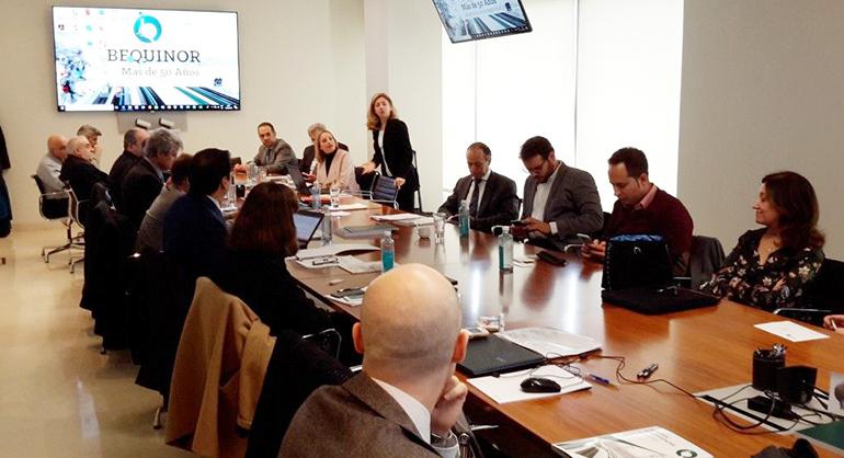 Bequinor y sus asociados mantienen un encuentro con los responsables de la Administración en seguridad industrial y normalización
