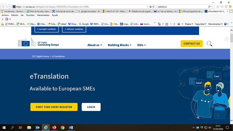 Nueva herramienta de la Comisión Europea: Plataforma de traducción eTranslation para la PYME