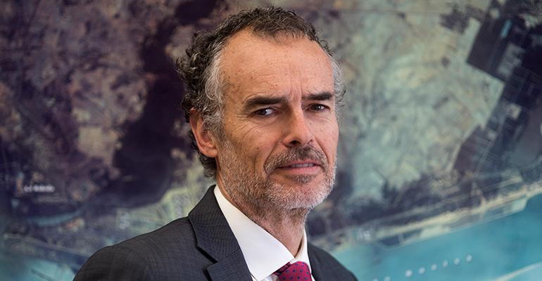 Entrevista Carlos Ortiz Beviá, presidente de la Asociación de Industrias Químicas, Básicas y Energéticas de Huelva (AIQBE)