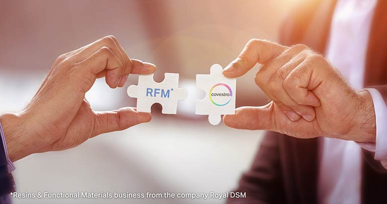 Covestro completa la compra del negocio de Resinas y Materiales Funcionales de DSM