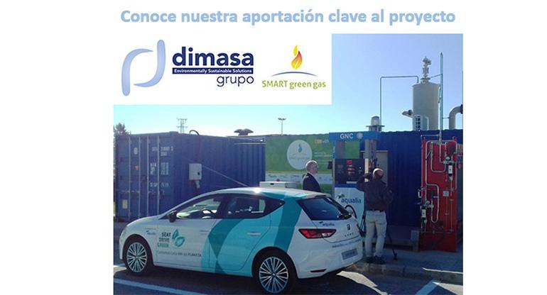 Dimasa Grupo participa en el proyecto Smart Green Gas
