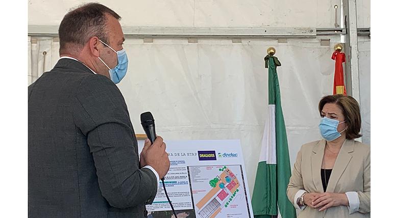 La UTE Dragados Dinotec inicia las obras para el tratamiento de aguas en la comarca jienense del Condado