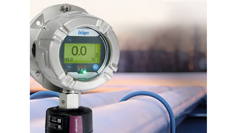 Sensor por ultrasonidos para fugas de gas