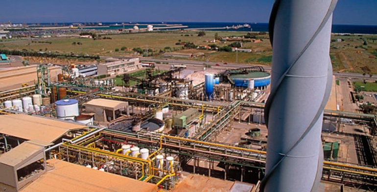Ercros acometerá una tercera ampliación de la planta de producción de cloro de Vila-seca I