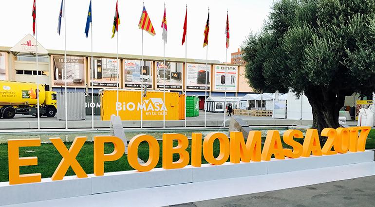 Reservado ya el 80% del espacio expositivo de Expobiomasa 2019