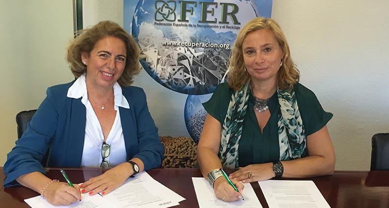 FER y AENOR firman acuerdo de colaboración para fomentar la formación de sus asociados