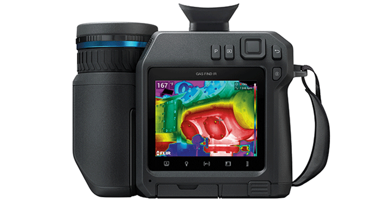 Flir, gas metano