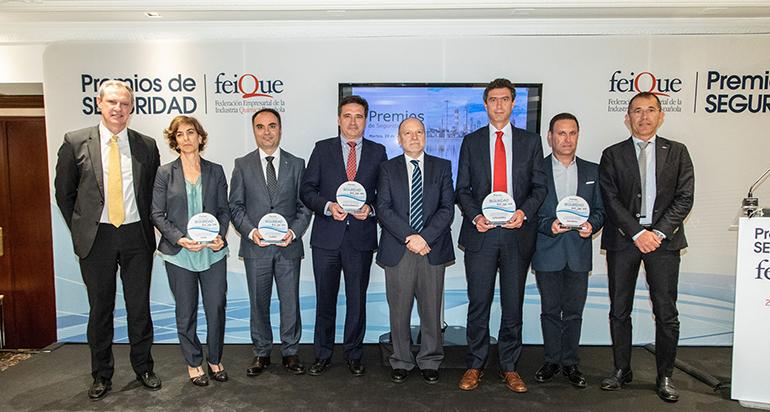 El sector químico, uno de los más seguros de la industria española