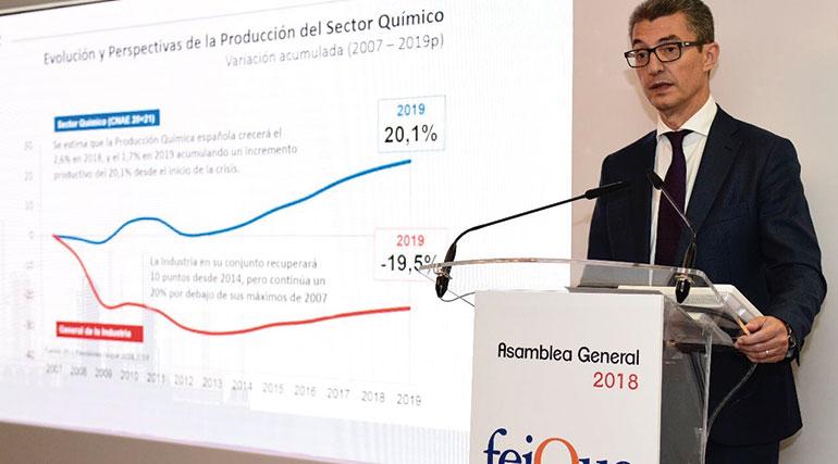 El presidente de Feique, Carles Navarro, liderará el comité organizador de Expoquimia 2020