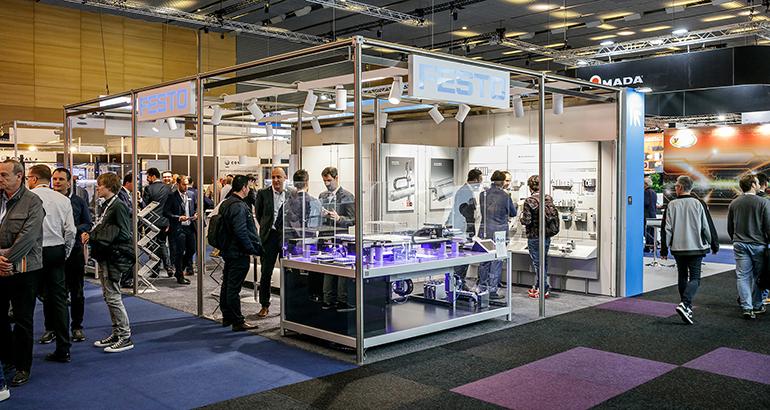 Festo presentó en Advanced Factories sus novedades para la digitalización de la industria 4.0