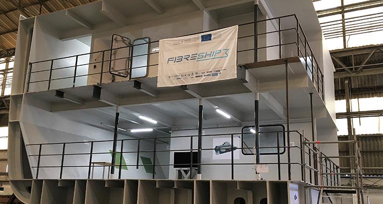 El proyecto Fibreship se presenta ante la Organización Marítima Internacional