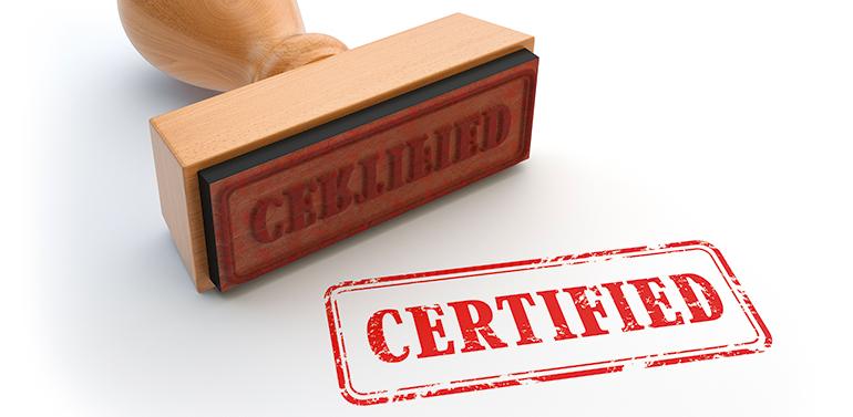 Técnicas reunidas, certificación, seguridad