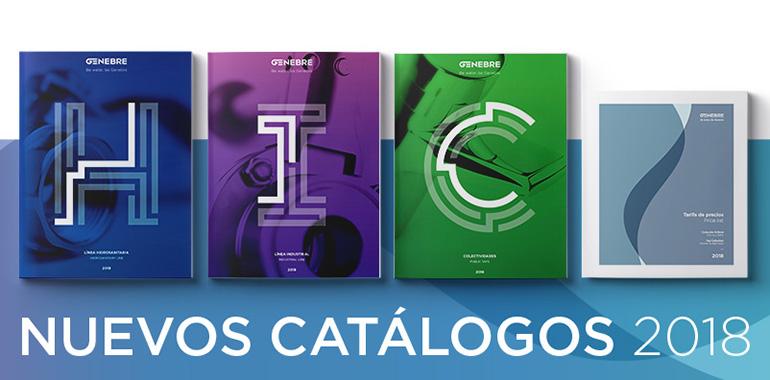 Nuevos catálogos 2018 de Genebre