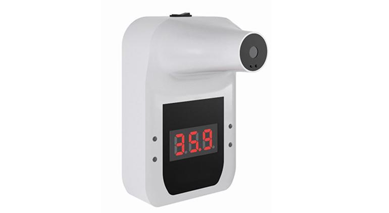 Termómetro infrarrojo non-contact de pared