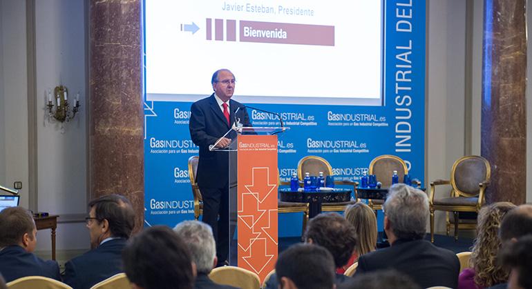 El gas natural industrial tiene que jugar un papel en la transición al nuevo sistema energético, asegura el presidente de GasIndustrial