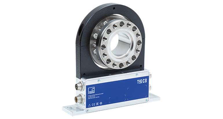 Transductor de par para ensayos a velocidades más altas