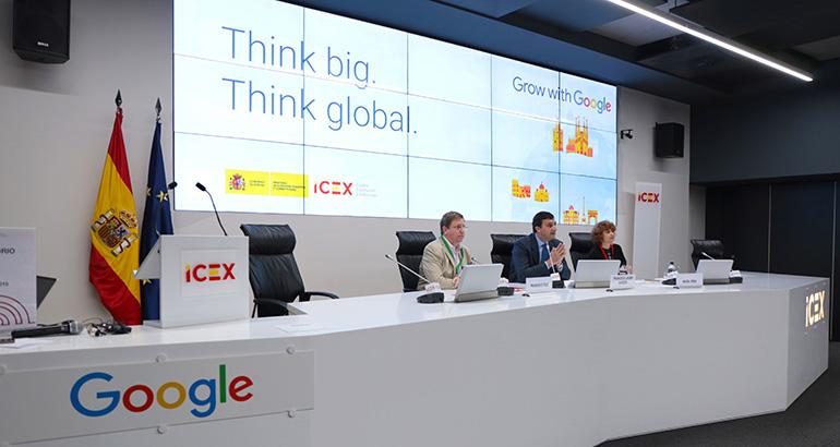 Icex, Google, internacionalización