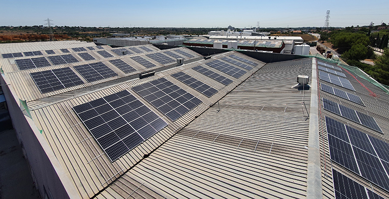 La química Oro confía en la energía solar de la mano de Imagina Energía