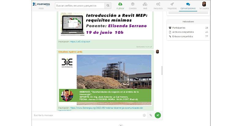 Los ingenieros de Bizkaia lanzan su propia red social para conectar a sus profesionales