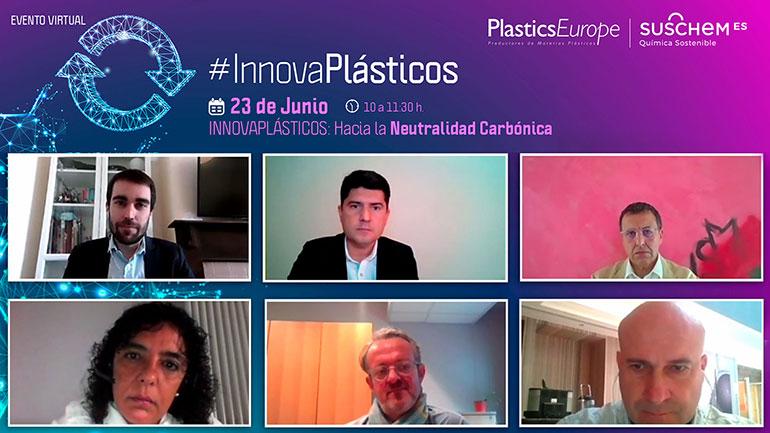 """""""La neutralidad carbónica pasa por la innovación con plásticos"""": primera sesión de la IV edición de las Jornadas #InnovaPlásticos"""