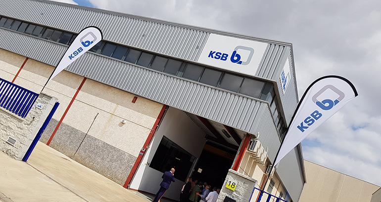 KSB inaugura un nuevo centro ventas y servicio para el sur de España