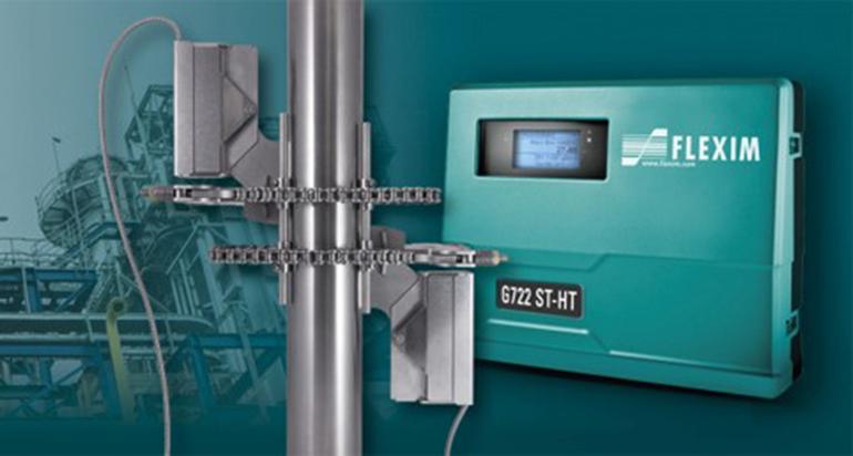 Caudalímetros no invasivos para la medición de vapor a alta temperatura