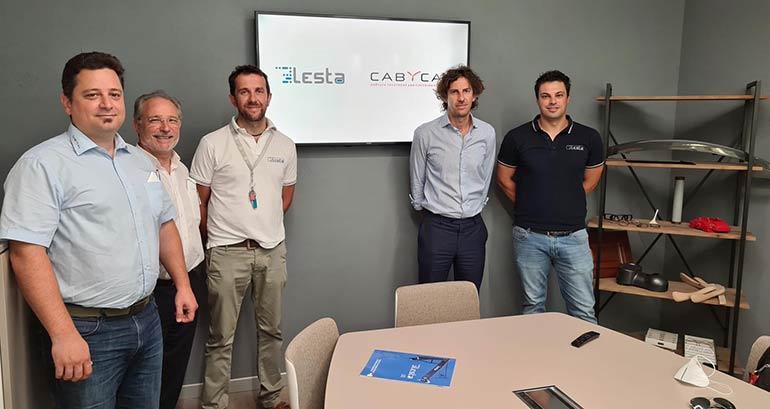 Lesta y Cabycal firman un acuerdo para distribución de los robots de pintura italianos en España
