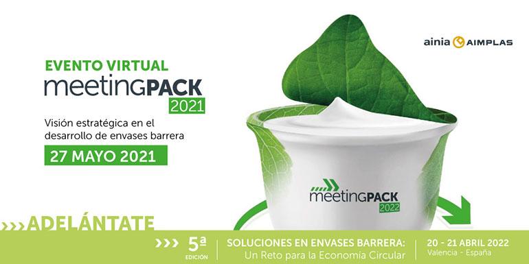 MeetingPack 2021, encuentro digital con el sector del envase el 27 de mayo