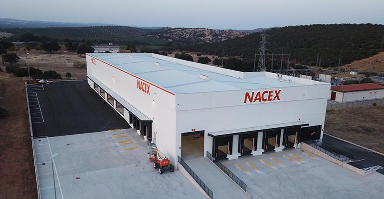 Nacex traslada su plataforma de Jaén