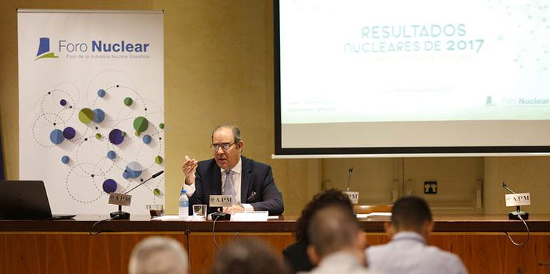 """""""La energía nuclear tiene un papel clave en la transición energética"""", afirma el presidente de Foro Nuclear"""