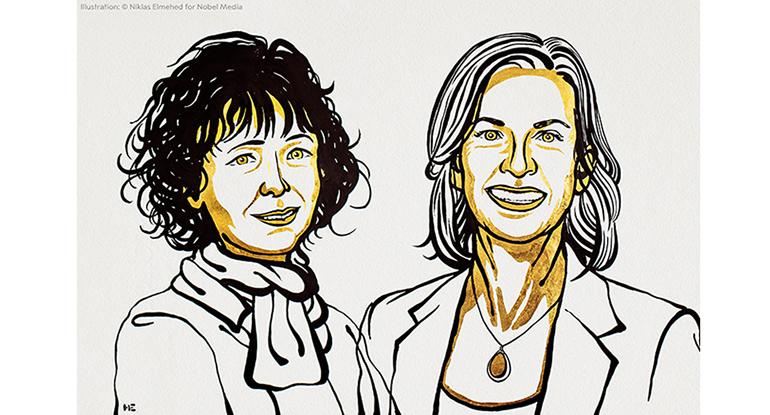 Investigadoras del método para la edición del genoma, Nobel de Química 2020
