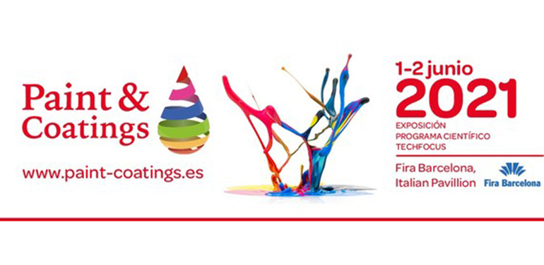 Paint & Coatings se celebrara el 1 y 2 de junio de 2021