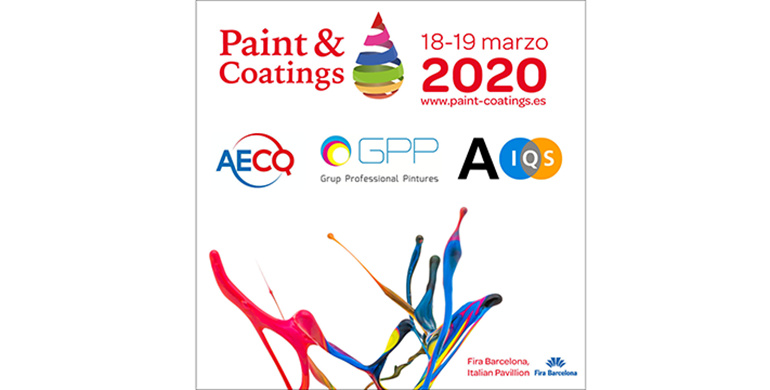 Paint & Coatings Barcelona 2020, pinturas, recubrimientos