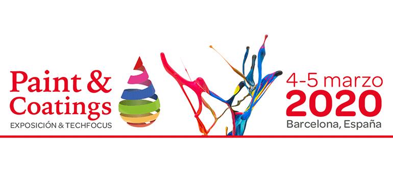 Paint & Coatings Barcelona 2020, cita con el sector de pinturas