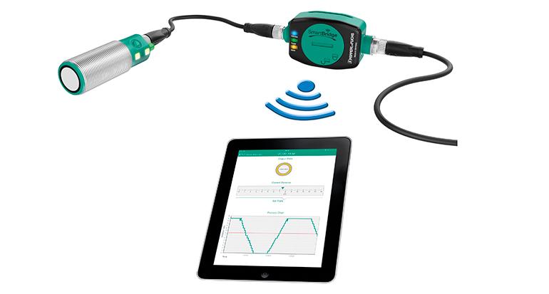 Sensor industrial en el Internet de las Cosas